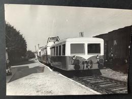 Photographie Originale De J.BAZIN : Train En Gare De PANNES  , Ligne ORLÉANS MALESHERBES  En 1969 - Trenes