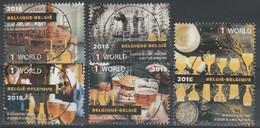 4754/4758 Bière Belges /Biercultuur Oblit/gestp Centrale - Used Stamps