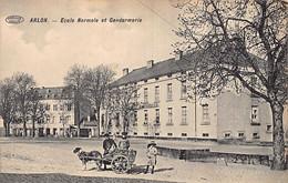 ARLON (Lux.) Ecole Normale Et Gendarmerie - Voiture à Chien - Arlon
