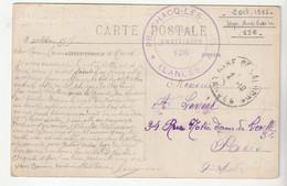 """Carte Pontonx Sur Adour / Arènes Avec Cachet """" Hôpital Auxiliaire N°136 Préchacq / Landes, 1915 - Covers & Documents"""
