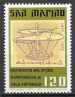 Avion Hélicoptère - Saint-Marin N°946 1977 ** - Elicotteri