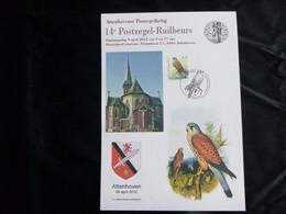 """BELG.2012 """" BUZIN """" : 3609 Torenvalk  (A5 Formaat) - 1985-.. Oiseaux (Buzin)"""