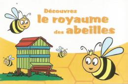 F122 / Publicitaire / Advertising Business Card CARTE De VISITE LABERGEMENT-STE-MARIE  Le ROYAUME DES ABEILLES - Altri Comuni