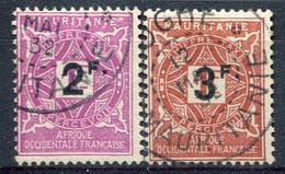 Mauritanie      Taxes 25/26 Oblitérés - Usati
