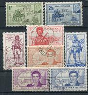 Mauritanie    95/97 - 116/118 - 123/124 Oblitérés - Usati