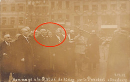 JUDAICA - France - STRASBOURG - Georges Mandel (born Louis Rothschild) With Prime Minister Clemenceau And President Poin - Judaísmo