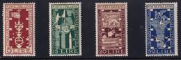 Regno D'Italia Biennale Venezia 1949 Serie Completa Sass. 594/597 MH* Cv 40 - 1946-60: Neufs