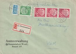 R - Brief Bund Drensteinfurt Vom 31.12.1955 - Gebruikt