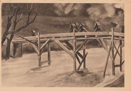 Cartolina In Franchigia /  Postcard /   Viaggiata - Sent /   Forze Armate - Sotto Il Tiro Nemico. - Guerre 1939-45