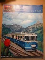 Vie Du Rail 1155 1968 Basse Indre Ronquières Chateau Oex Gstaad Rougemont La Napoule Dourdan Montroc Le Planet - Trains