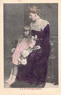 ROMANIA - Crown Princess Marie Of Romania With Princess Elisabeta - Ed. Necunoscut - Rumania