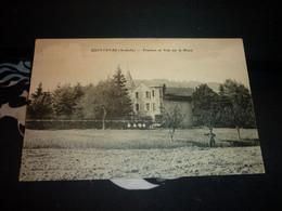 Cartes Postale Ardeche Quintenas Frachon Et Vue Sur Le Mont Animée - Altri Comuni