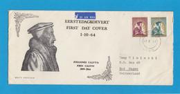 FDC. JOHANNES CALVYN/JOHN CALVIN 1509-1564. - Africa Del Sud-Ovest (1923-1990)