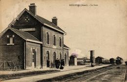 FRANCE - 02 - SISSONE - La Gare - Sissonne