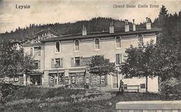 LEYSIN - Grand Bazar Rmile Ernst, éditeur De Cartes Postales - Attention: Carte Légèrement Décollée. - VD Vaud