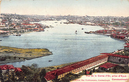 Turkey - ISTANBUL - View Of The Golden Horn, From Eyub - Publ. Max Fruchtermann - Turkey