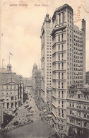 NEW YORK CITY - Park Row - Publ. Paul C. Koeber - Non Classificati