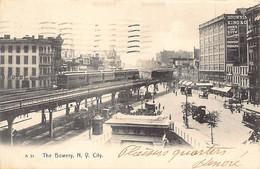 NEW YORK CITY - The Bowery - Publ. The Rotograph Co. A51 - Non Classificati