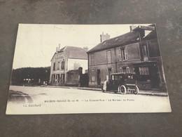 Carte Postale Maison Rouge La Grande Rue Et Le Bureau De Poste - Other Municipalities