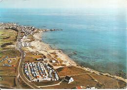 Entre Le POULIGUEN Et BATZ-sur-MER (44) La Plage Et Le Camping De La Govelle - Au Fond , Le Squale En 1975  CPSM GF - Le Pouliguen