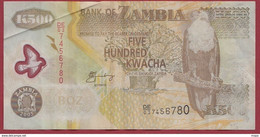 Zambie 500 Kwacha  2005   Dans L 'état (128) - Zambia