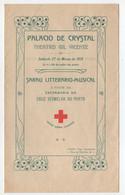 Porto 1915 Palacio Cristal Teatro Gil Vicente Programa Sarau A Favor Da Cruz Vermelha * Programme Portugal - Programs
