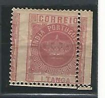1882. INDIA PORTUGUESA. TIPO COROA. YV Nº 117 IIx. PERFORACIÓN DESPLAZADA - India Portuguesa