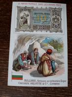 L37/83 CHROMO CHICOREE ARLATTE . LE PAPIER MONNAIE DANS LES DIVERS PAYS . BULGARIE - Tea & Coffee Manufacturers