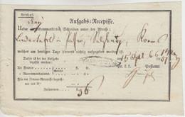 Österreich - Waidhofen A.d.I. Oval-Stpl. Aufgabs-Recepisse F. DREI Einschreiben - Lettres & Documents