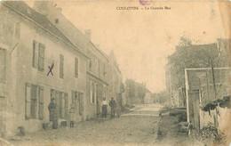 290621 - 14 COULOMBS La Grande Rue - Tampon RC-M PARIS - Andere Gemeenten