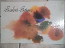 AFFICHE Publicitaire Ancienne Pub BONBONS BARNIER Carton Ancien Publicité Rare - Plaques En Carton