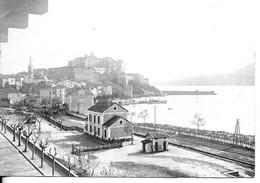 CARTE PHOTO  CALVI 2B : Le Port Et La Citadelle  1910/20 - Calvi