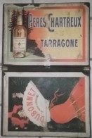 AFFICHE Publicitaire DUBONNET QUINQUINA LIQUEUR PERES CHARTEREUX TARRAGONE BOANO - Plaques En Carton