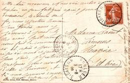 N°85580  -cachet Pointille : Publier 1909 Haute Savoie- - Manual Postmarks