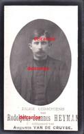 OORLOG Guerre Rodolp Heyman Zele Gesneuveld Bombardement D'une Usine De Munitions Bousbecque Wervicq Sud 26 JUN 1918 - Devotieprenten