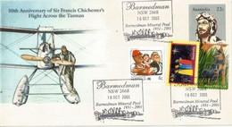AUSTRALIA. Anniversary Of Sir Francis Chichester Flight Accross Tasman Sea (year 1931) Barmedman NSW - Flugzeuge