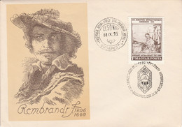 HONGRIE FDC 1969 REMBRANDT - FDC