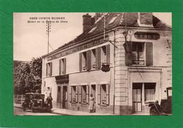 77 Brie Comte-Robert Hôtel De La Grace-de-Dieu CPA Année 1954 Voiture Juva 4 Animation état Impeccable - Brie Comte Robert