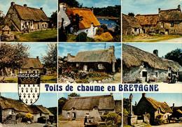 Dep 29 , Cpm  Toits De Chaume En BRETAGNE  (28855) - Zonder Classificatie