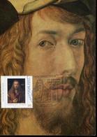 65127 Germany,stationery Durer 1971,maximum Of Self Portrait Albrecht Durer, Special Postmark 21.5.2021 (see 2 Scan) - Other