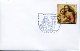 65128 Germany,special Postmark Nurnberg 21.5.2021 With Self Portrait Of Albrecht Durer - Other