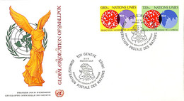 [907636]B/TB//-Nations Unies 1978 - GENEVE, Eradication De La Variole, Onu, Santé, Maladies - FDC