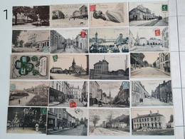 Lot De 20 Cartes Postales Anciennes Animées. - 5 - 99 Cartes
