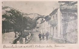 Cartolina - Beaulard - Osteria Della Ferrovia - 1947 - Sin Clasificación