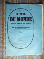 LE TOUR DU MONDE 07/06/1890 AFRIQUE SOUDAN KANKAN BATOURBALABE ALMAMY SATORY TRAITE CAPTIVES VILLAGE BISSANDOUGOU - 1850 - 1899