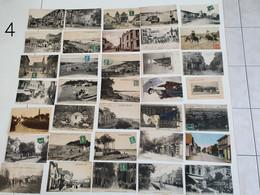 Lot De 35 Cartes Postales Anciennes Animées. - 5 - 99 Cartes
