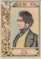 FRANCE. HECTOR BERLIOZ, 1803 - 1869, COMPOSITEUR FRANÇAIS. VIÑETA ARGENTINA, LABEL.- LILHU - Muziek