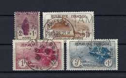 Frankreich Mi.211-214 Gestempelt Kat.130,-€ - Used Stamps