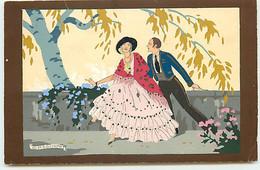 N°18001 - G. Meschini - Couple Sous Un Arbre - Ars Novas - Andere Illustrators