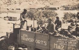 SKER (Carte-Photo): Survivants Espagnols Du Poste De Bab-Slib Réfugiés à Sker - Other